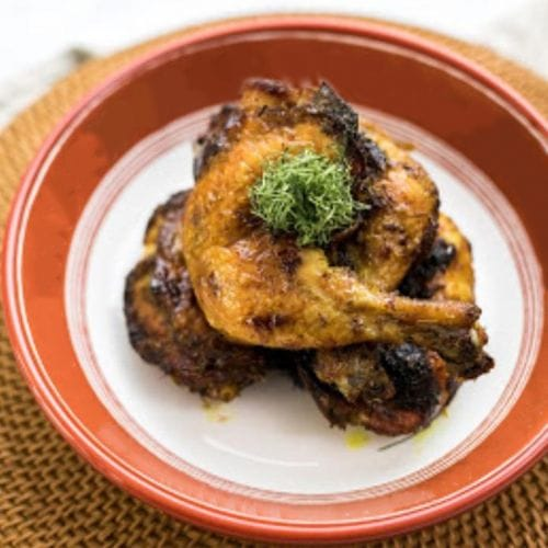 Lemongrass Tumeric Roasted Chicken Leg