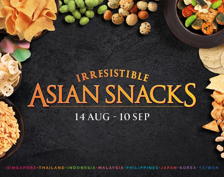 Craving For Asian Snacks?