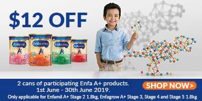 Enfagrow Promotion