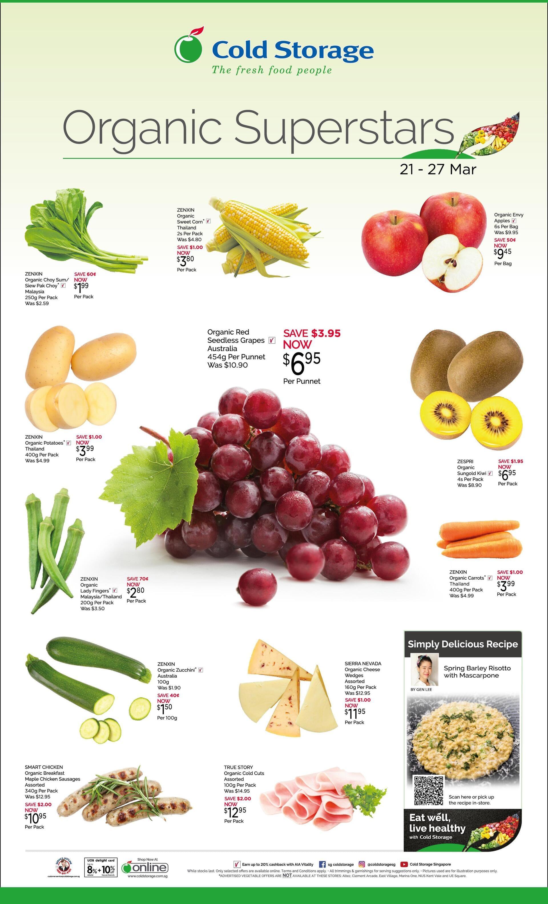 Fresh – Organic Superstar Ad (Till 27th Mar)