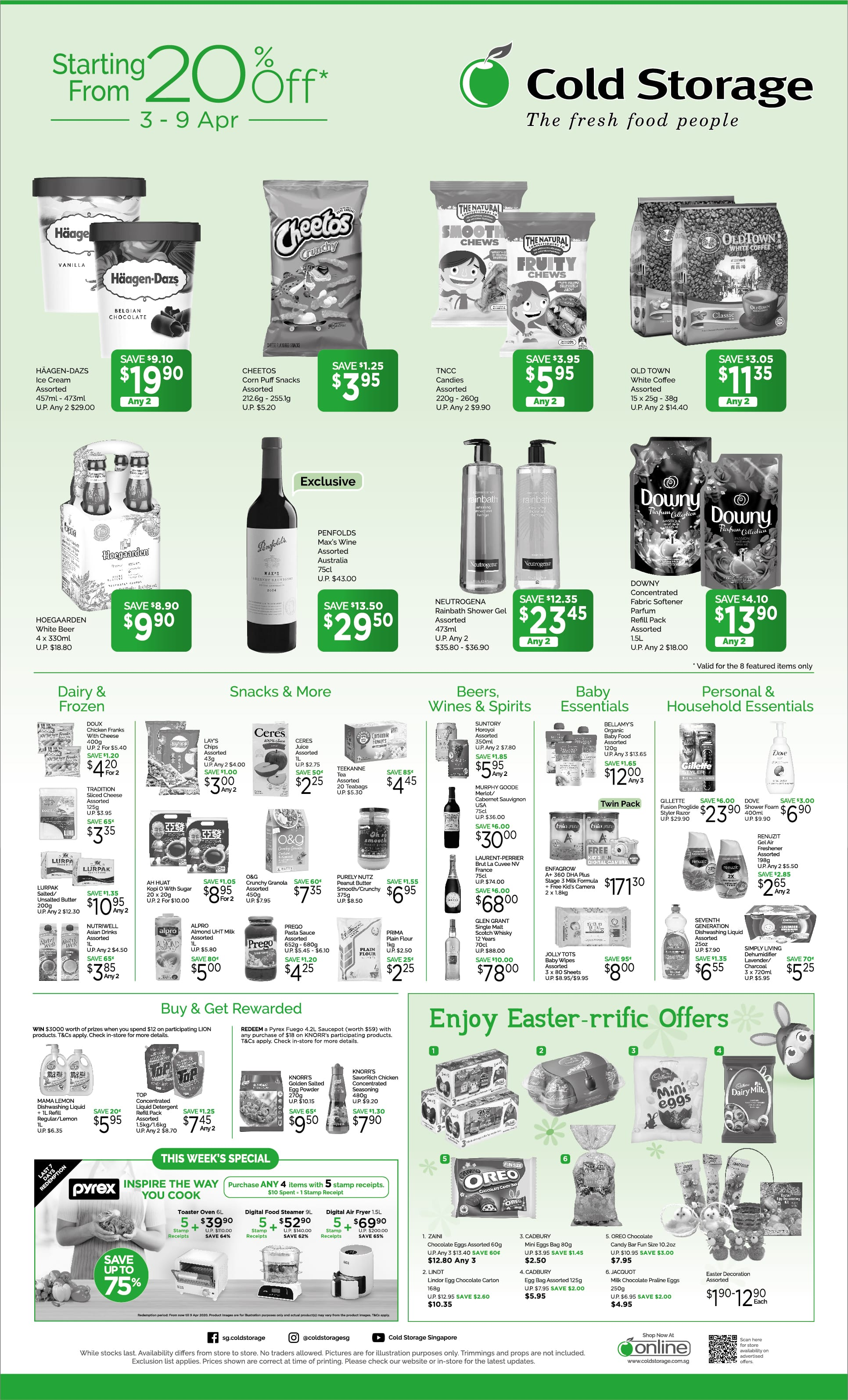Grocery Weekly Promotions (Till 9th Apr)